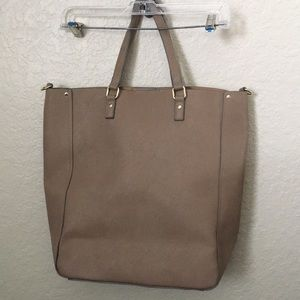 Brand new JustFab Faux leather tote